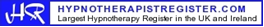 Registered on the largest Hypnotherapy Register in the UK